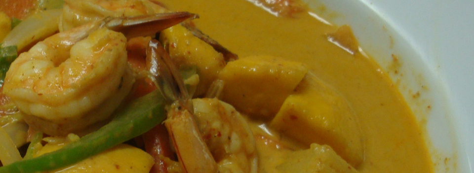 Spicy Thai-style curry